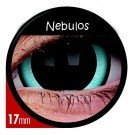 ColourVue Mini Sclera 17mm Nebulos Crazy Contact Lenses