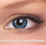 ColourVue Blue 3 Tones Coloured Contact Lenses