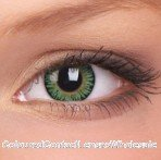 ColourVue Green 3 Tones Coloured Contact Lenses