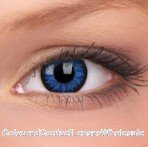 ColourVue Blue Glamour Coloured Contact Lenses