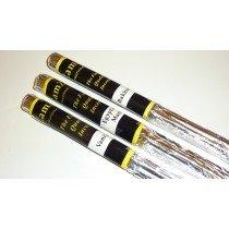 (Amber) 12 Packs Of Zam Zam Long burning Fragranced Incense Sticks