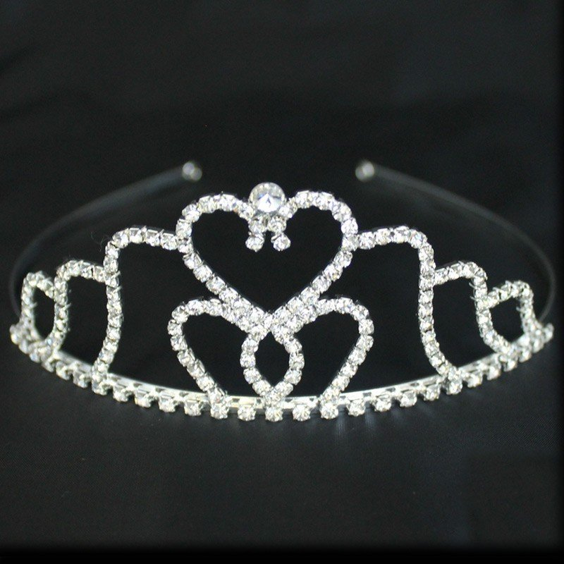 Bridal 193/ Bridal Tiara - Silver (GS30127)
