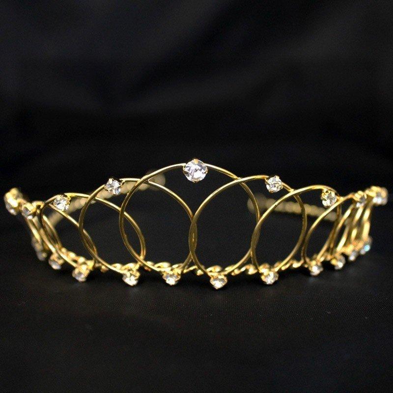 Bridal Tiara - Gold (6477)