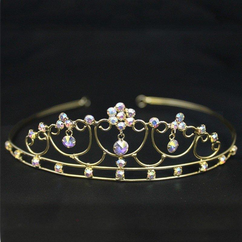 Bridal Tiara - Gold (GS40108)