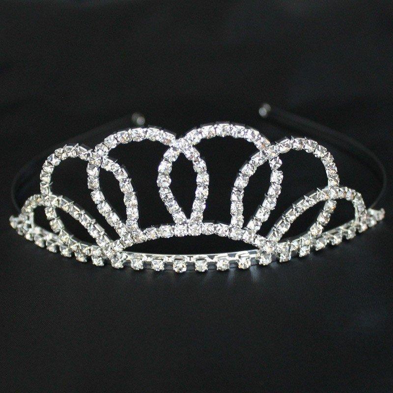 Bridal 192/ Bridal Tiara - Silver (23309)
