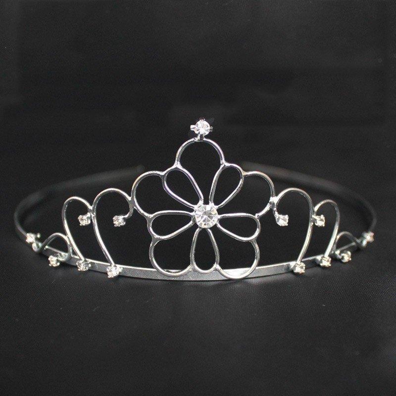 Bridal Tiara - Silver (T5472)