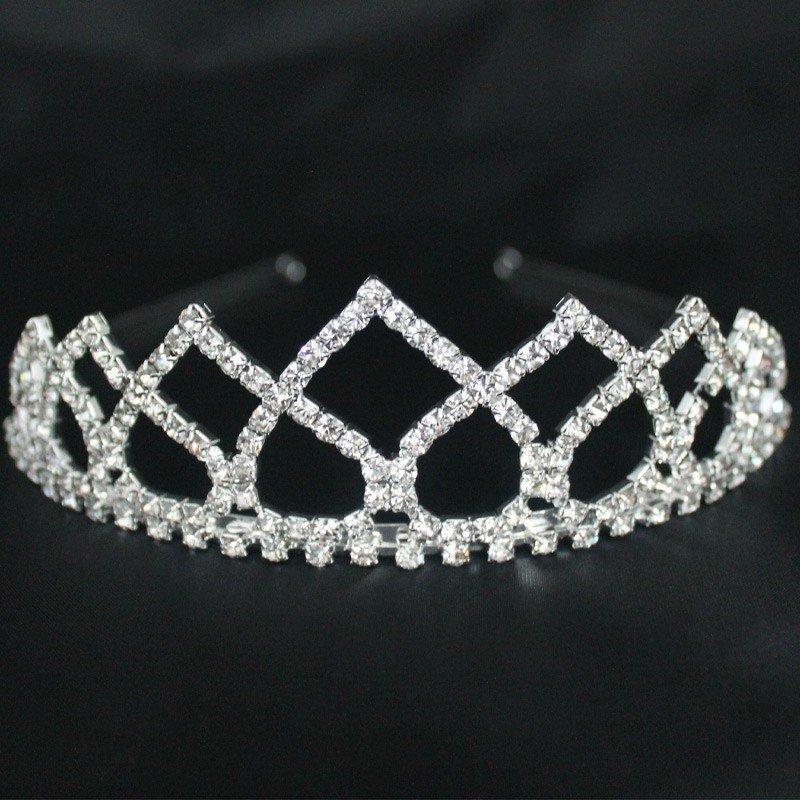 Bridal Tiara - Silver (B23186)