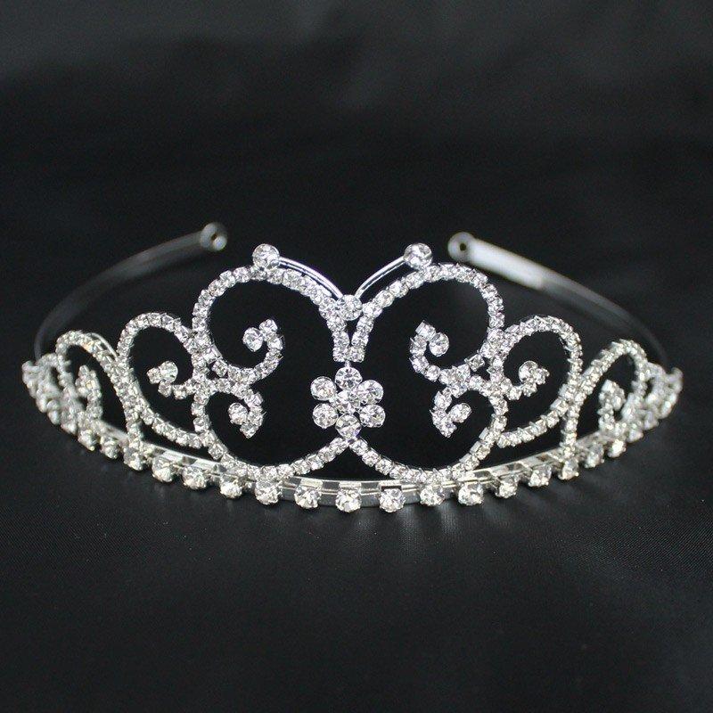 Bridal Tiara - Silver (GS40424)