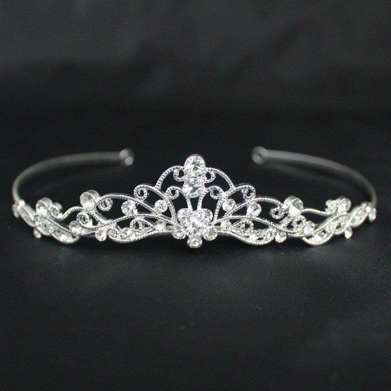 Bridal Tiara - Silver (40402)