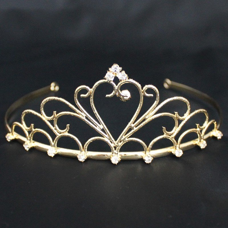 Bridal Tiara Gold (40396)