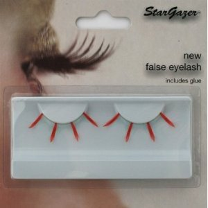 Stargazer Reusable False Eyelashes Red & Light Blue 41
