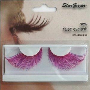 Stargazer Reusable False Eyelashes Pink and Purple 57