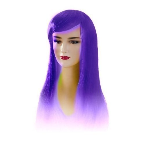 Violet Stargazer Adjustable Jezzabel Style Fashion Wig