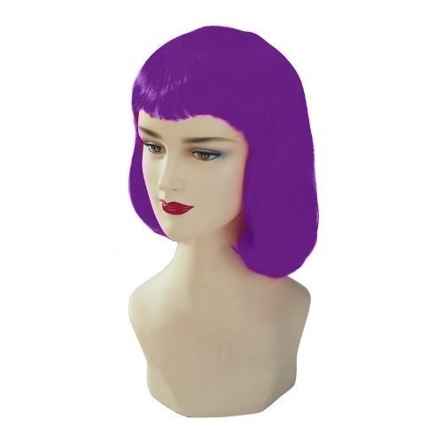 Violet Stargazer Adjustable Pulp Style Fashion Wig