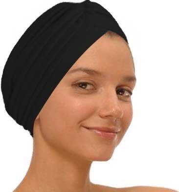 Black Fashion Turban Funky Headwrap