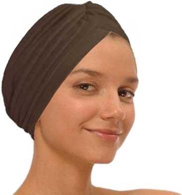Brown Fashion Turban Funky Headwrap