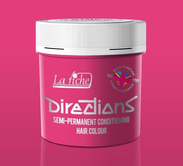 Carnation Pink Directions Semi Perm Hair Dye By La Riche