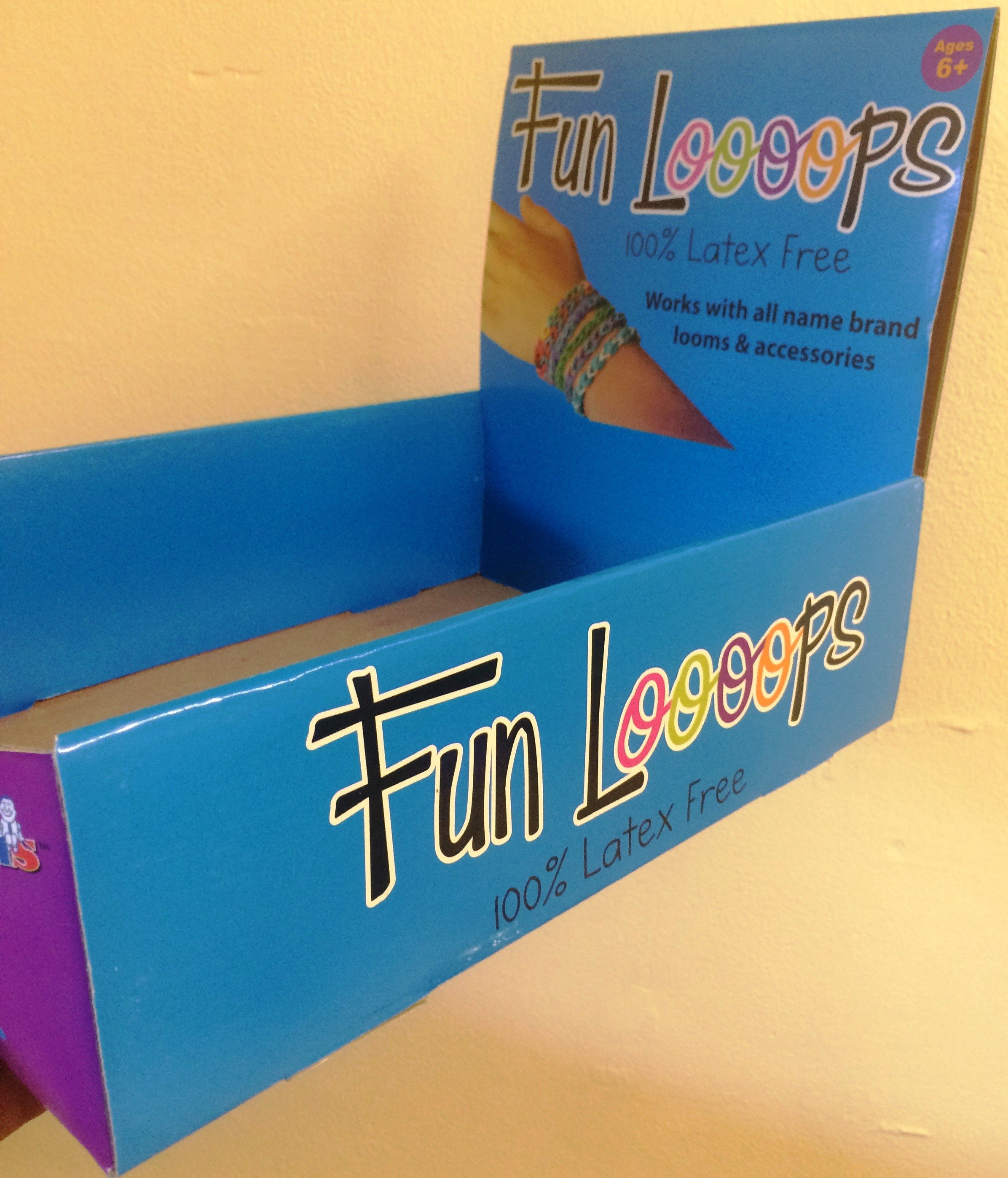 Loom Bands Counter Display Box