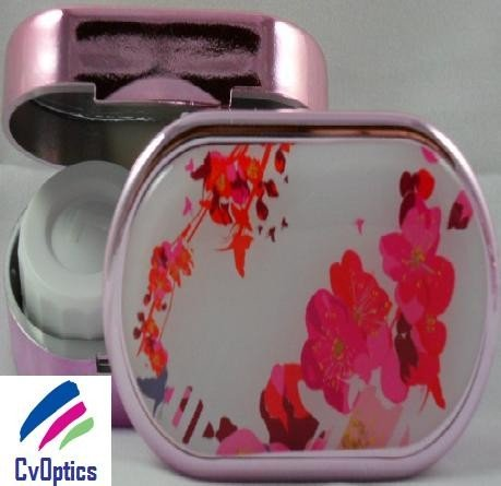Floral Delight Karine Faou Contact Lens Soaking Case