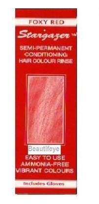 Stargazer Foxy Red Semi-Permanent Conditioning Hair Colour 70ml