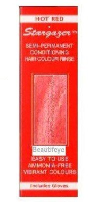 Stargazer Hot Red Semi-Permanent Conditioning Hair Colour 70ml