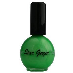 Stargazer UV Green Neon Nail Varnish 14ml 101