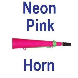 Neon Pink Rave Party Woofer Horn