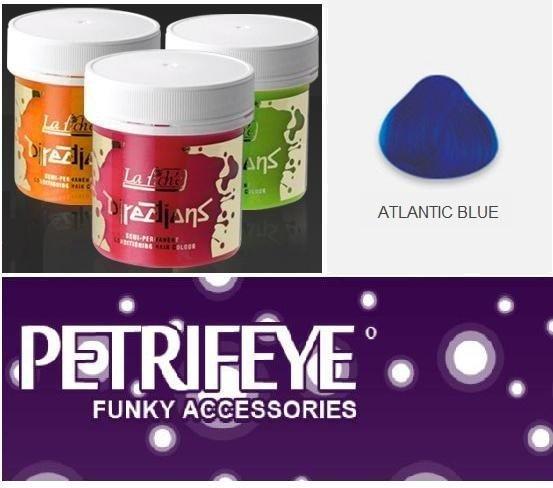 Blue Directions Semi Perm Hair Dye By La Riche