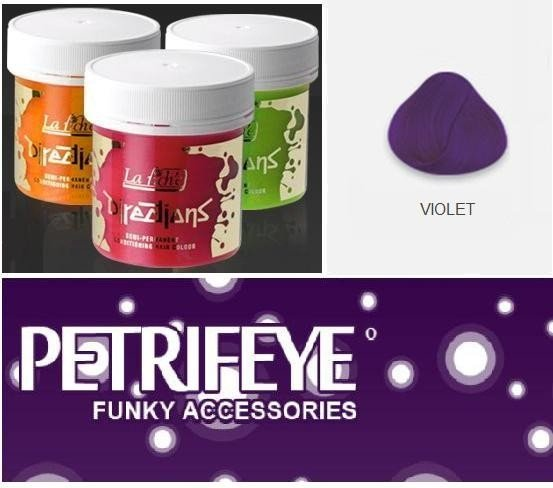 Violet Directions Semi Perm Hair Dye By La Riche
