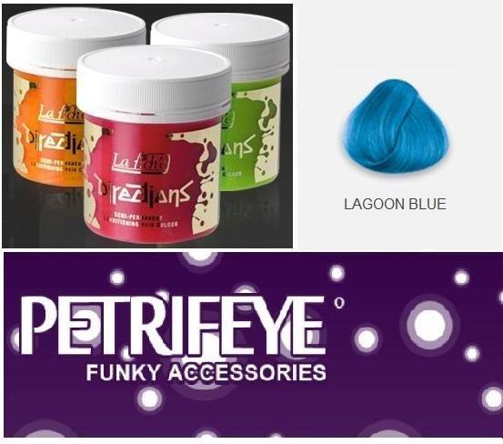 Lagoon Blue Directions Semi Perm Hair Dye By La Riche