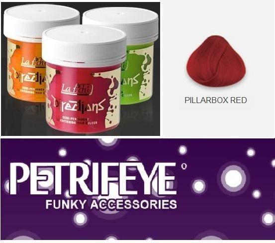 Pillar Box Red Directions Semi Perm Hair Dye By La Riche