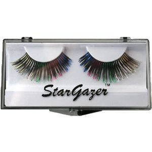 Stargazer Reusable False Eyelashes Black & Rainbow Foil 2