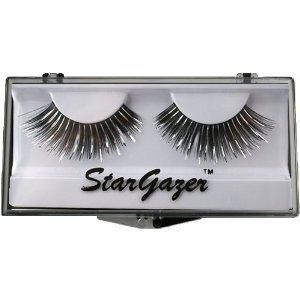 Stargazer Reusable False Eyelashes Black & Silver Foil 4