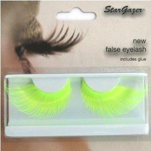 Stargazer Reusable False Eyelashes Bright Neon Yellow 67