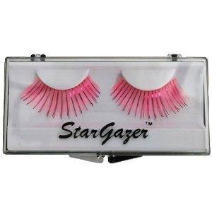 Stargazer Reusable False Eyelashes Bright Pink and Foil 21