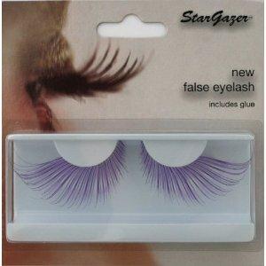 Stargazer Reusable False Eyelashes Extra Long Purple 56