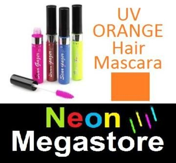 New Stargazer Colour Streak Hair Mascara - UV Neon Orange