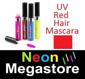 New Stargazer Colour Streak Hair Mascara - UV Neon Red