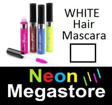 New Stargazer Colour Streak Hair Mascara - UV Neon White