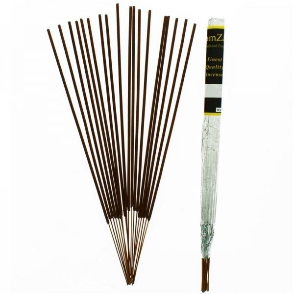 (Satin Musk) 12 Packs Of Zam Zam Long burning Fragranced Incense Sticks