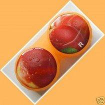 Peach Summer Fruits Contact Lens Holder For Lenses