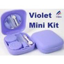 Violet Mini Contact Lenses Storage Lens Travel Kit