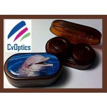 Dolphin Endangered Species Contact Lens Soaking Case