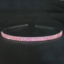 Bridal Tiara Pink Diamond
