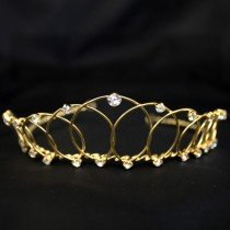 Bridal Tiara - Gold (6477)