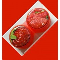 Strawberry Summer Fruits Contact Lens Holder For Lenses