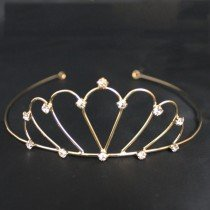 Bridal Tiara - Gold (GS6883)