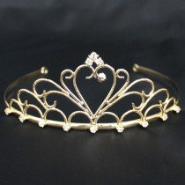 Bridal Tiara Gold (40396)