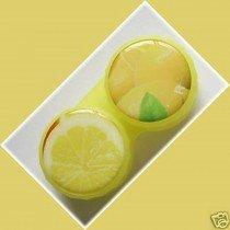 Lemon Summer Fruits Contact Lens Holder For Lenses