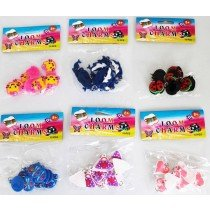 NEW Loom Charms 12 Packs x 12 Pieces - Assorted Designs
